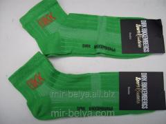 Men's sports Dirk Bikkembergs socks lime,
