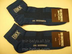 Men's sports Dirk Bikkembergs socks blue,