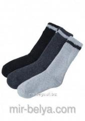 Men's Marilyn socks mohair 844 dark gray,
