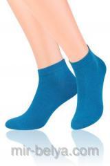 Men's sports short Steven 045 socks blue,