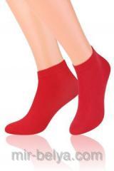 Men's sports short Steven 045 socks red,