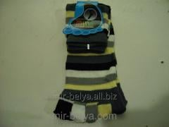 Women's socks with fingers the Strip 1,