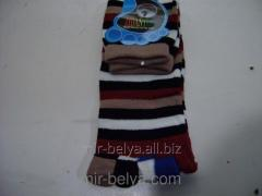 Women's socks with fingers the Strip 2,