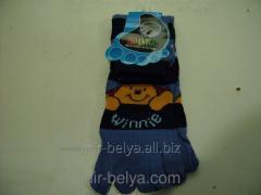 Women's socks with fingers Blame down,