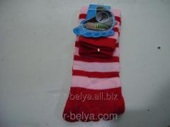 Women's socks with fingers a large strip,