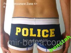 Pants shorts the underestimated Police Police