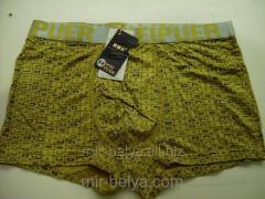 Pants man's bright bokserka of Weipuer were