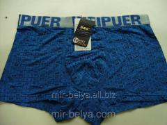 Pants man's bright bokserka of Weipuer