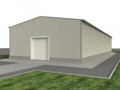 Pryamostenny hangars