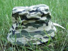 Man's hat of a military camouflage khaki 1,