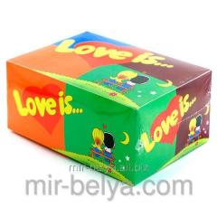 Chewing gum of Love is of 5 tastes mix chewing gum