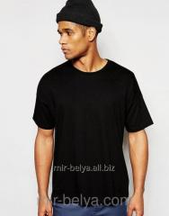 Men's qualitative t-shirt for sport black,