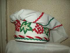 Headdress Ukrainian - ochipok. Theatrical and