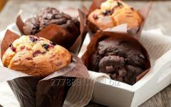 Confectionery mixes for production of muffins