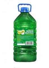 Green Apple liquid soap, 5 kg