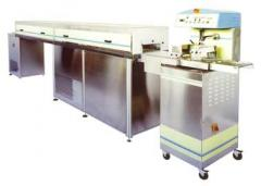 Line of glazing of confectionery of L 250