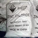 Zinc cloruro de zinc anhidro cloruro 98%