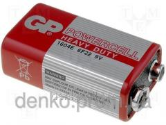 GP powercell 6F22 battery