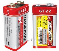 Battery our force 6F22
