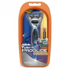 The Gillette Fusion Proglide Power razor with 1