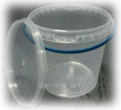 Bucket of plastic 1 l