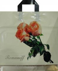 Package a loop Romanov 39*40 Bouquet on beige