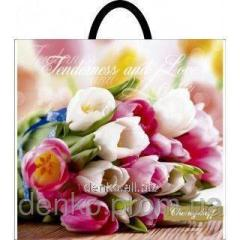 Package layer ruch 37*33 Bouquet of tulips