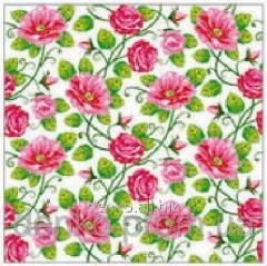La Fleur napkin a cloth from roses