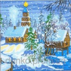 Napkin ng Luxy on the eve of Christmas