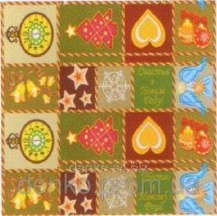 Napkin ng Luxy New Year's rug