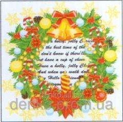 Napkin ng Luxy Christmas charm