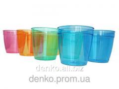 Glass of household 200 ml vitreous 6sht/unitary