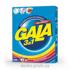 3 in 1 laundry detergent Gala Bright colors of 400