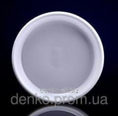 Disposable plate of 165 mm