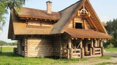 Projects of construction of wooden buildings