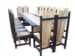 Tables for restaurants, cafe, bars. Furniture for