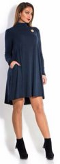 Knitted flared dress, 48-54 code of 207 B