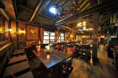 Restaurant in a ski resor