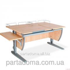 Стол универсальный трансформируемый СУТ.17.04-02 клен/серый