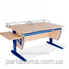 Стол универсальный трансформируемый СУТ.17.04-02 клен /синий