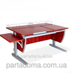 Стол универсальный трансформируемый СУТ.17.04-02 яблоня/серый