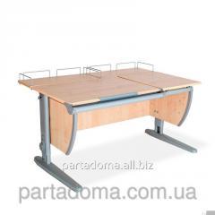 Стол универсальный трансформируемый СУТ.17.04-01 клен /серый