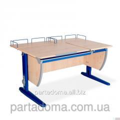 Стол универсальный трансформируемый СУТ.17.04-01 клен/синий