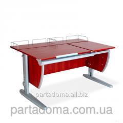 Стол универсальный трансформируемый СУТ.17.04-01 яблоня/серый