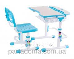 Комплект FunDesk Парта и стул-трансформеры Colore Blue