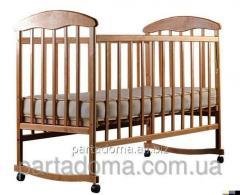 Кроватка детская Наталка, ясень, светлый