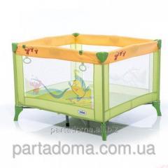 Манеж Mioo m100 tiger green зеленый-оранжевый