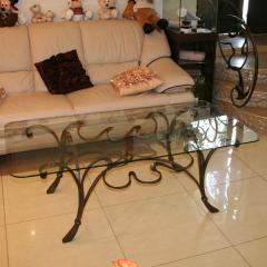Мебель кованая   Луганск, от компании Ковка Люкс.