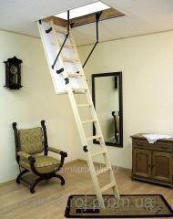 Лестница чердачная деревянная 120смх70см