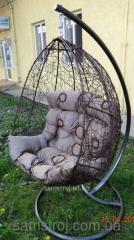 Подвесное кресло, качеля --Шоко Нюська-- + стойка